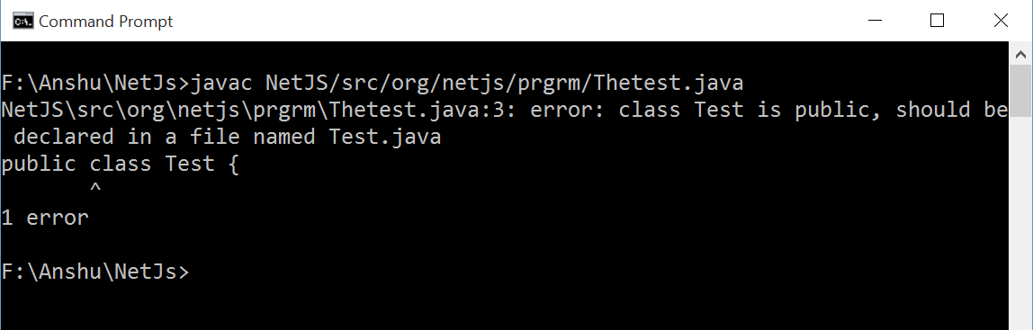 Why Class Name and File Name Should be Same in Java | Tech