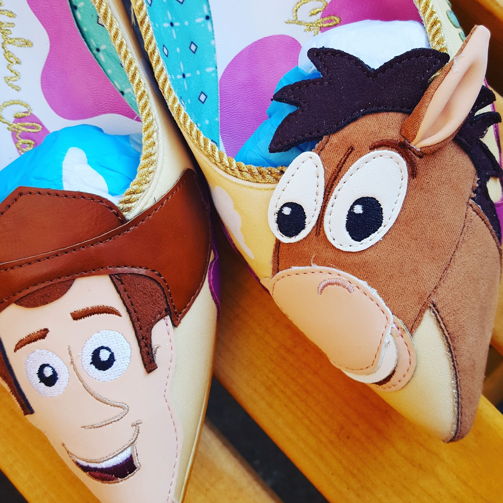 Toy Story Irregular Choice Shoes