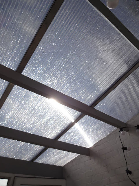 transparent polycarbonate roof