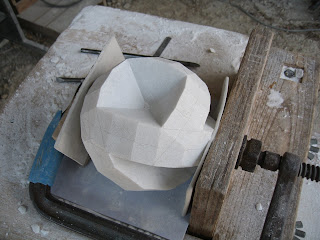 The making of sculpture Rotation4