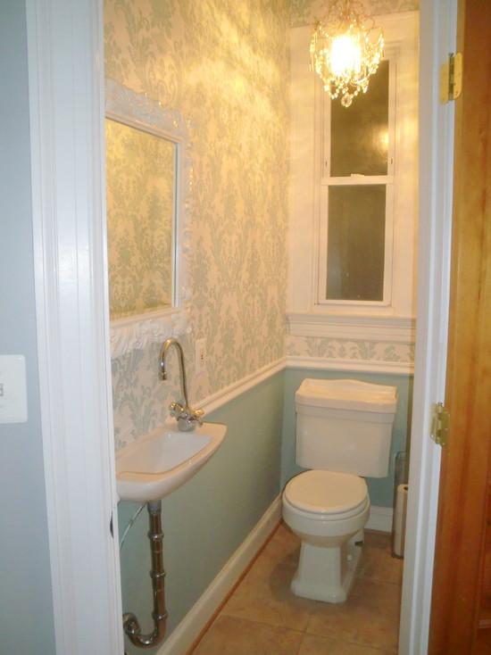 Small powder room designs joy studio design gallery - Tiny half bathroom ideas ...