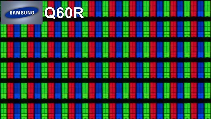 samsung q60r pixeles