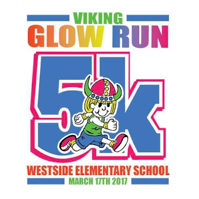Fourth annual Viking Glow Run