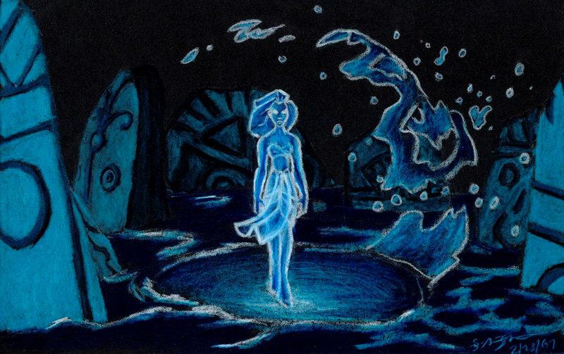 "Kida/crystal ""Atlantis: The Lost Empire"" 2001 animatedfilmreviews.blogspot.com"