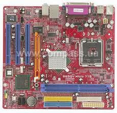 Biostar 865GV Micro Socket 775 motherboard drivers for windows