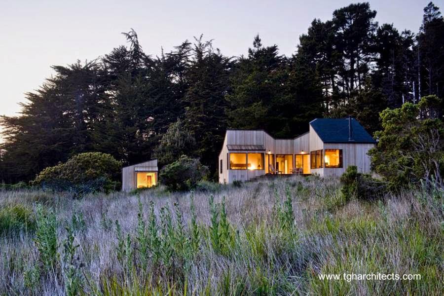 Casa de campo diseño contemporáneo en Estados Unidos
