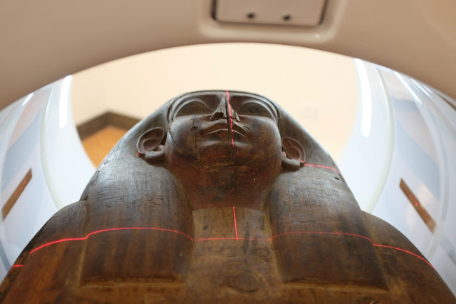 The mummy within: 2500-year old coffin's contents revealed