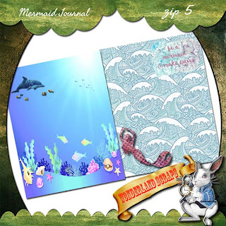 Combo Mermaid Journal freebie today