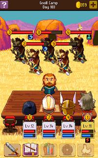 Sebuah game dimana player akan bermain sebuah game RPG tabletop klasik menggunakan pena da Unduh Game Android Gratis Knights of the pen 2 apk + obb