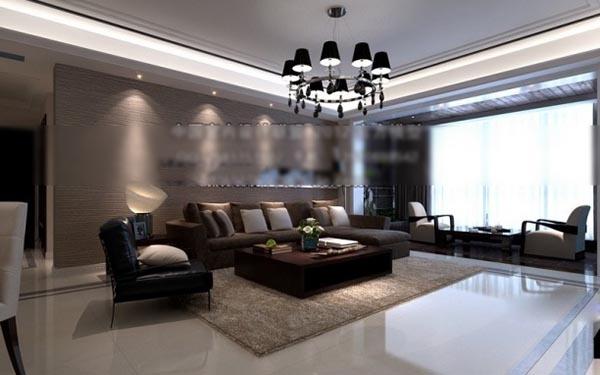 Modern minimalist living room model renderings free 3ds max