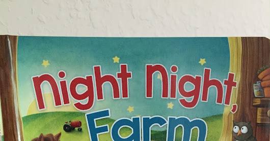 Night Night, Farm by Amy Parker Review & Giveaway