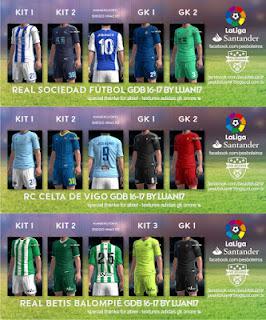 PES 2013 Liga BBVA Mini Kitpack 2016-17 by Luan17