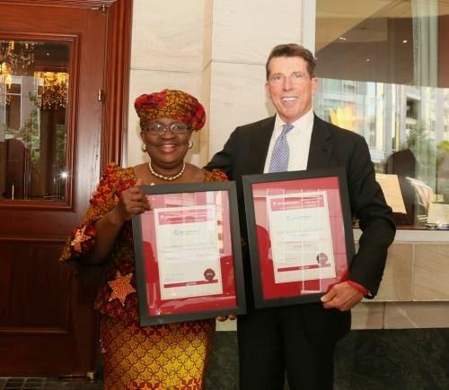 Celebrity Wedding Officiants For Hire: Ngozi Okonjo-Iweala Awarded African Finance Minister Of