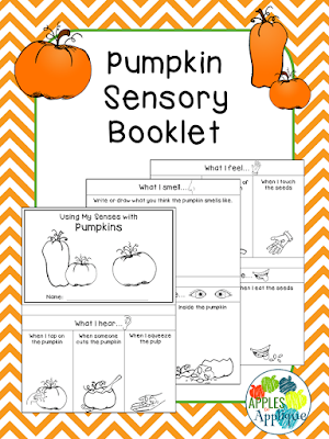 Pumpkin Sensory Booklet | Apples to Applique