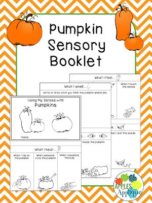 Pumpkin Sensory Booklet | Apples to Applique