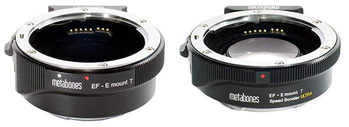 Адаптер Metabones Speed Booster и переходник без оптических элементов с поддержкой автофокуса и настройки диафрагмы