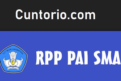 RPP PAI dan Budi Pekerti Kelas 12 SMA Kurikulum 2013 Revisi 2018