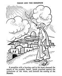 BibleFactsPlusII: ISAIAH AND THE SERAPHIM