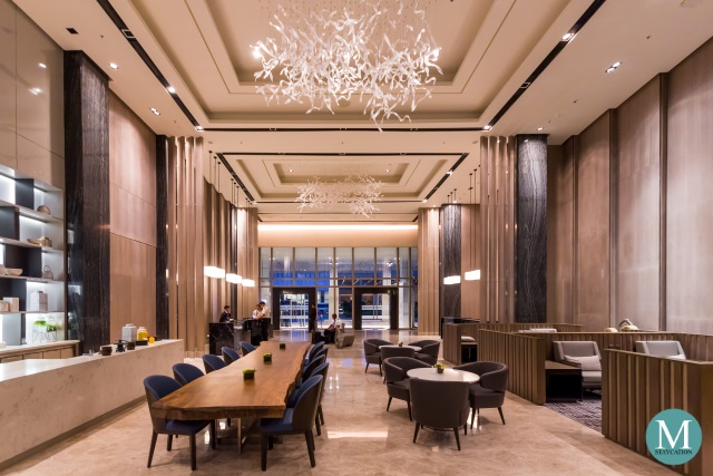 Lobby Lounge of Clark Marriott Hotel