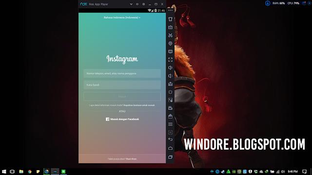 Cara Mudah Download Instagram untuk Laptop dengan Nox