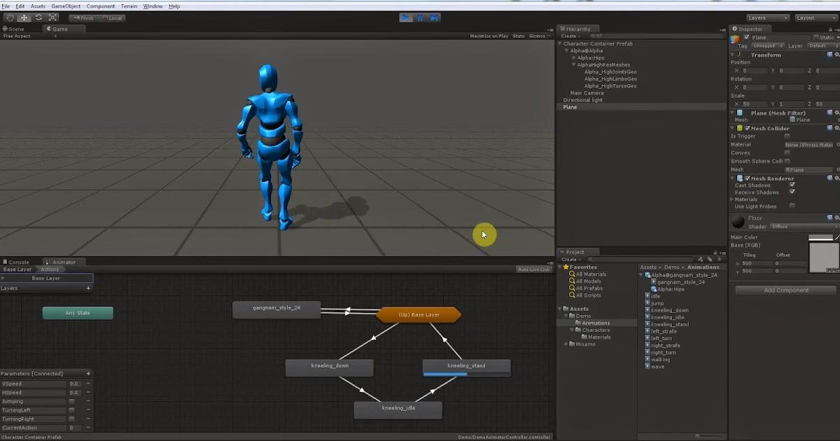 Mixamo and Unity Advanced Mecanim Animation | CG TUTORIAL