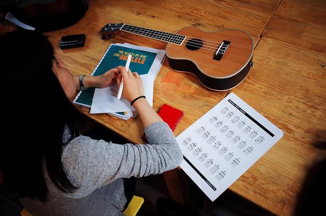 Hướng dẫn cách tự học đàn Ukulele Cơ bản