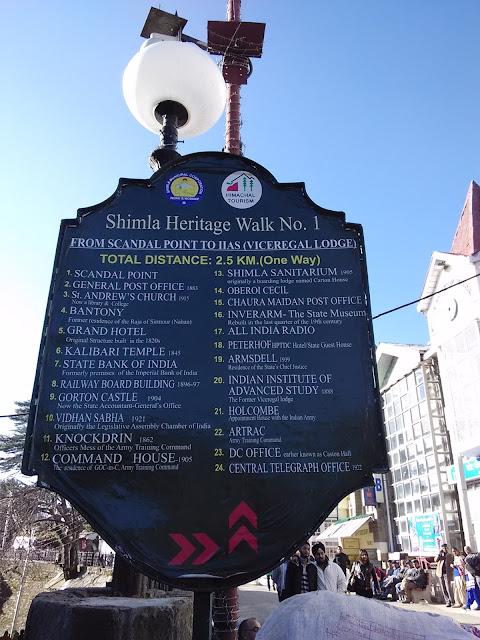 mall road shimla