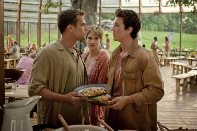 "Teller, Woodley y James en ""Insurgente"""