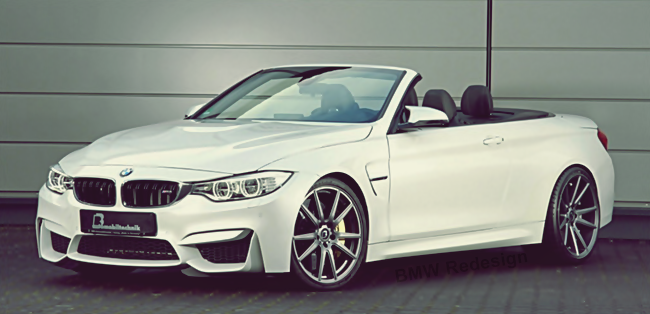 BMW M4 Convertible by B & B Makes 580 Horsepower