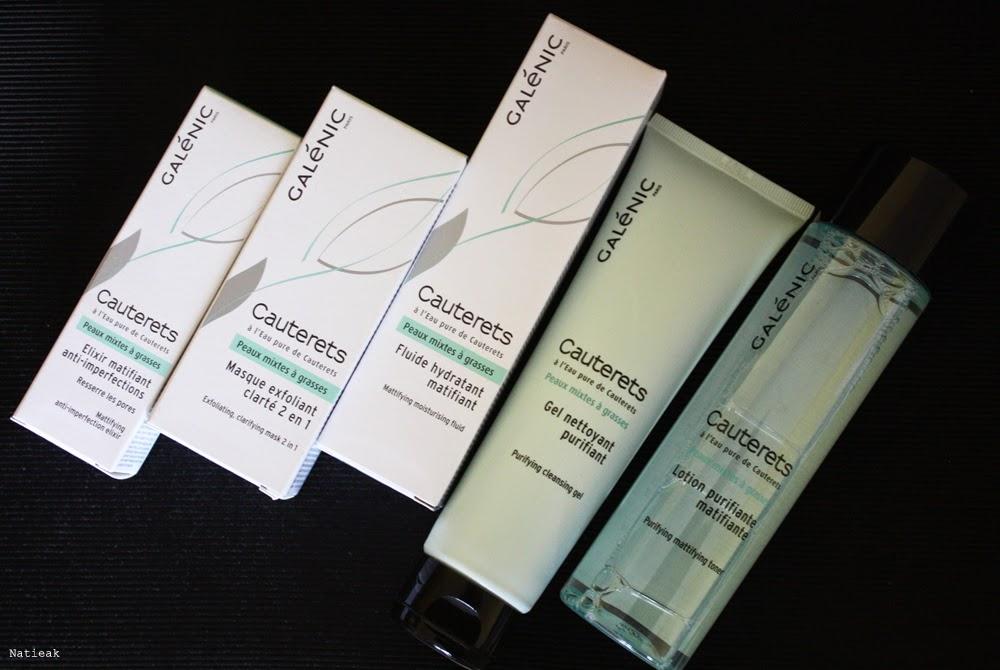 Cauterets routine de soin  pour peaux mixtes à grasses