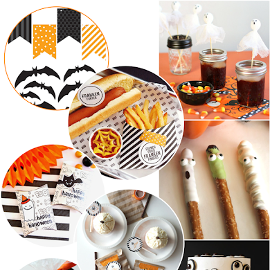 Halloween Party Ideas, Free Printables, Recipes & Crafts