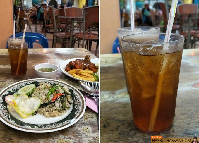 Nasi Goreng Kampung, Sup Ekor Teh O Ais