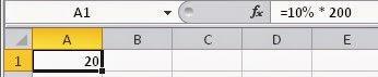 Como tirar porcentagem no Excel - Curso, Apostila online grátis com certificado