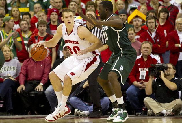 Ballin' is a Habit: NBA Draft Profiles: Jon Leuer, Wisconsin