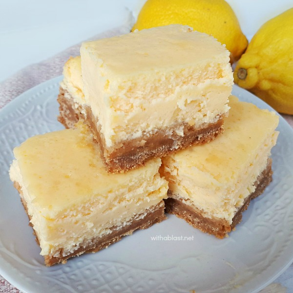 Simple, basic recipe for Light Lemon Cheesecake - an all time favorite !