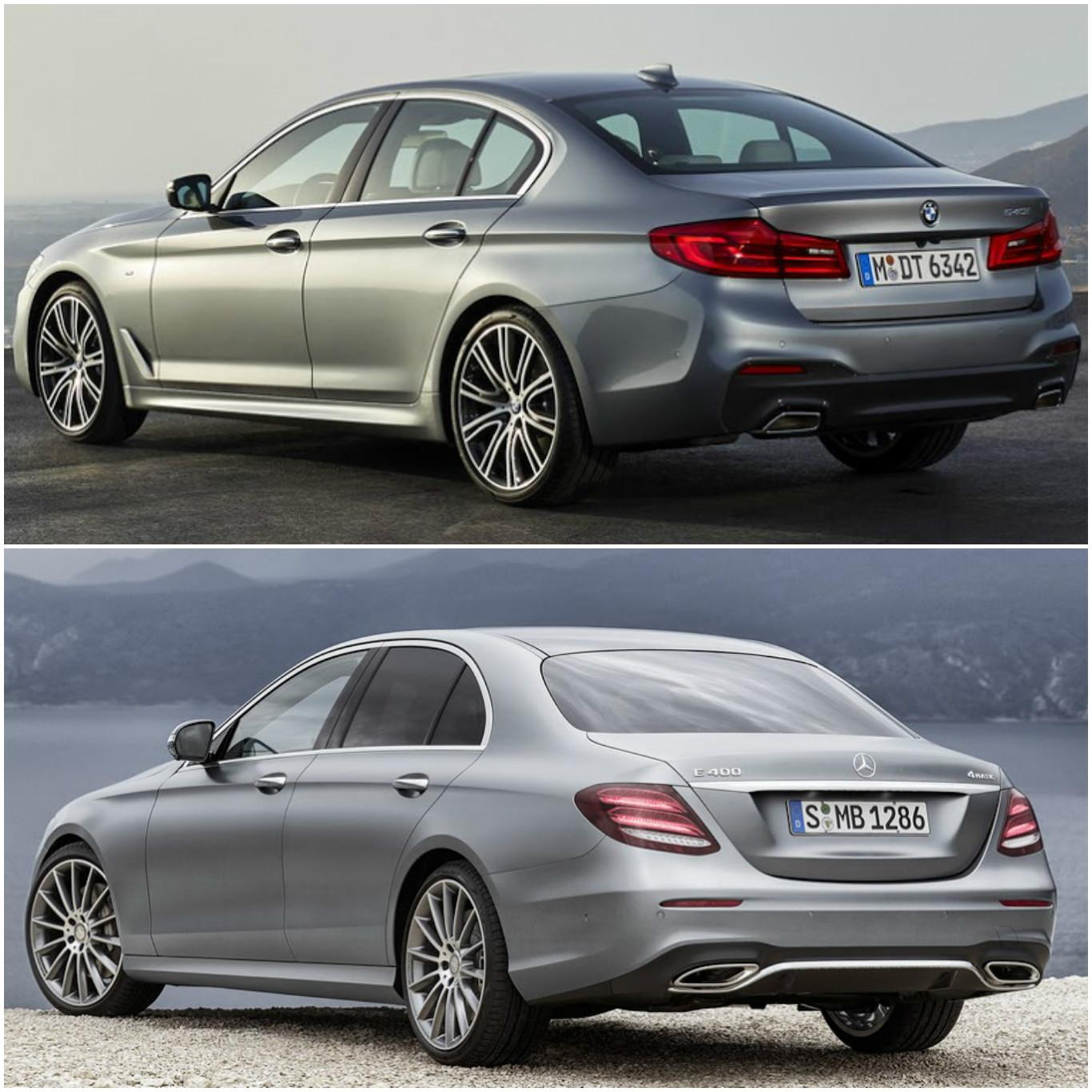 Yeni Bmw 5 Serisi Ile Yeni Mercedes E Serisi Karşı Karşıya Sekiz Silindir