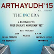ARTHAYUDH 2015 - THE INC ERA
