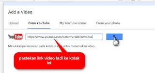 cara menampilkan video youtube ke postingan di blog w