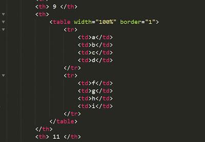 cara membuat tabel didalam tabel atau cara menambah tabel didalam tabel  pada html