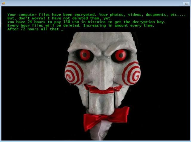 Jigsaw, inspirado nos filmes Jogos Mortais