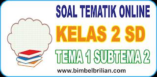 Soal Online K13 Kelas 2 SD Tema 1 Subtema 2 Hidup Rukun Dengan Teman Bermain - Langsung Ada Nilainya