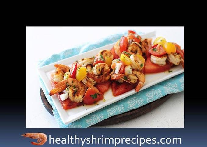 Watermelon shrimp salad real simple