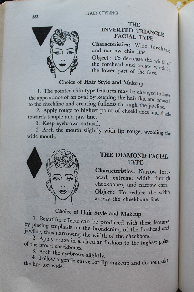 1930s vintage hair and makeup tips and instructions from Helena Rubenstein via VaVoomVintage.net