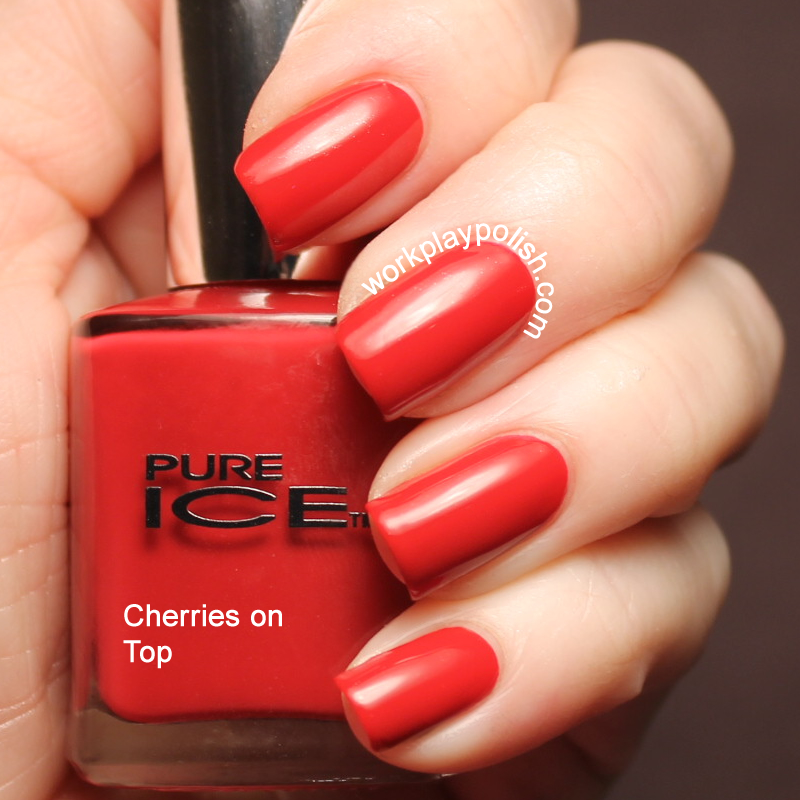 Pure Ice Cherries on Top (work / play / polish