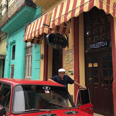 Calle San Rafael. La Habana