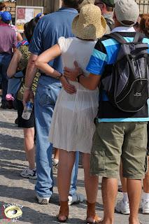 chicas con ropa transparente