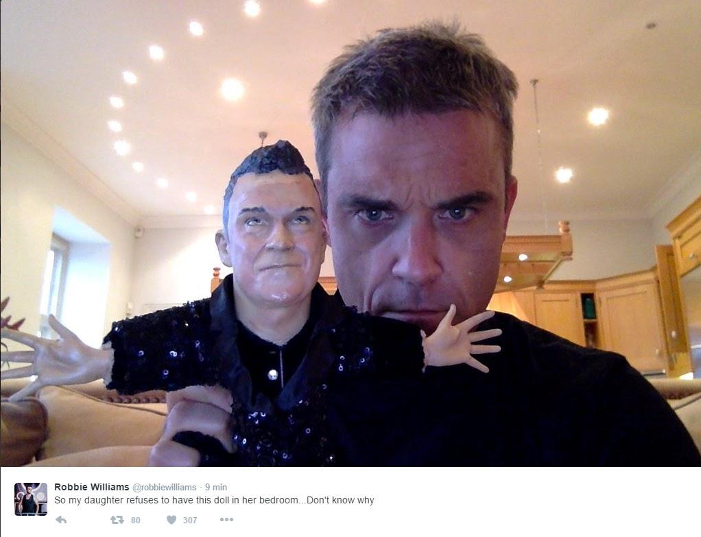 Diario italiano di robbie williams teddy si rifiuta di tenere la mia bambola in camera sua - In camera mia ...