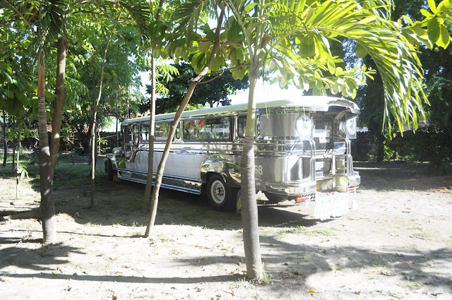 Beaches in the philippines zambales  jeepney