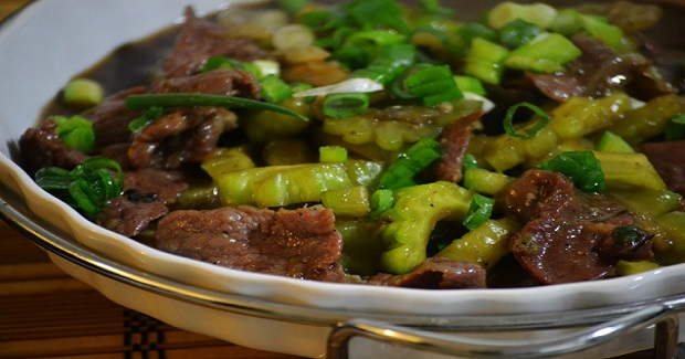 Ampalaya Con Karne( Bittermelon) Recipe