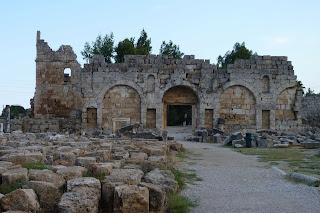Ciudad antigua de Perge.